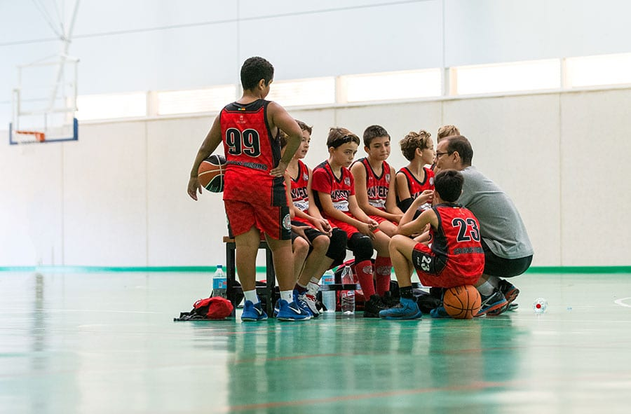 Basketball season begins in difficult conditions